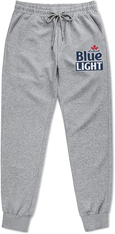 jdadaw Men Sweatpants Labatt-Blue Jogging Pants Cool Sweatpants with Pockets