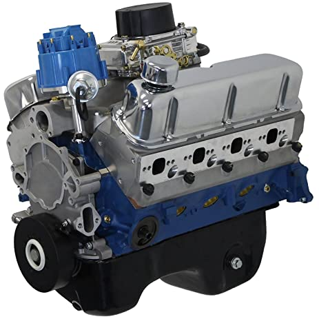 Amazon blueprint engines bp3027ctc small block ford 302 ci blueprint engines bp3027ctc small block ford 302 ci dress engine 370 hp 350 tq malvernweather Choice Image
