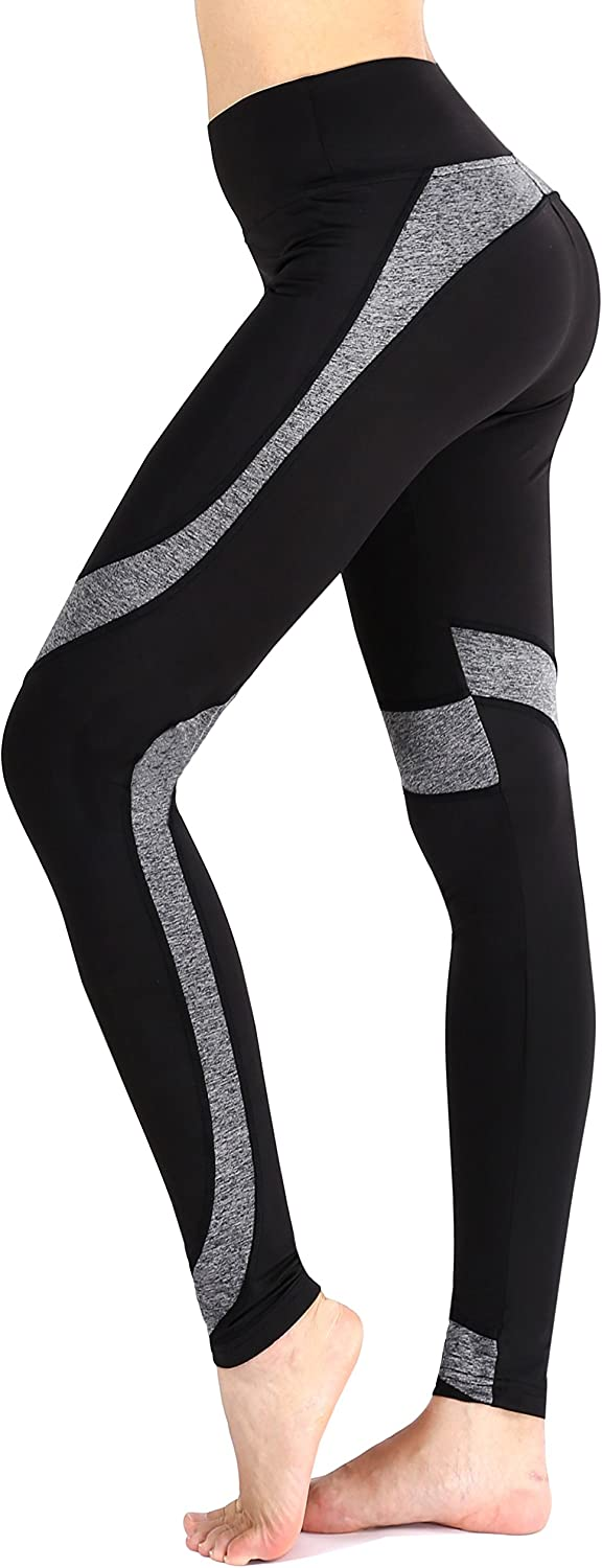 Sugar Pocket Womens Ankle Tights Running Leggings Workout Yoga Pants