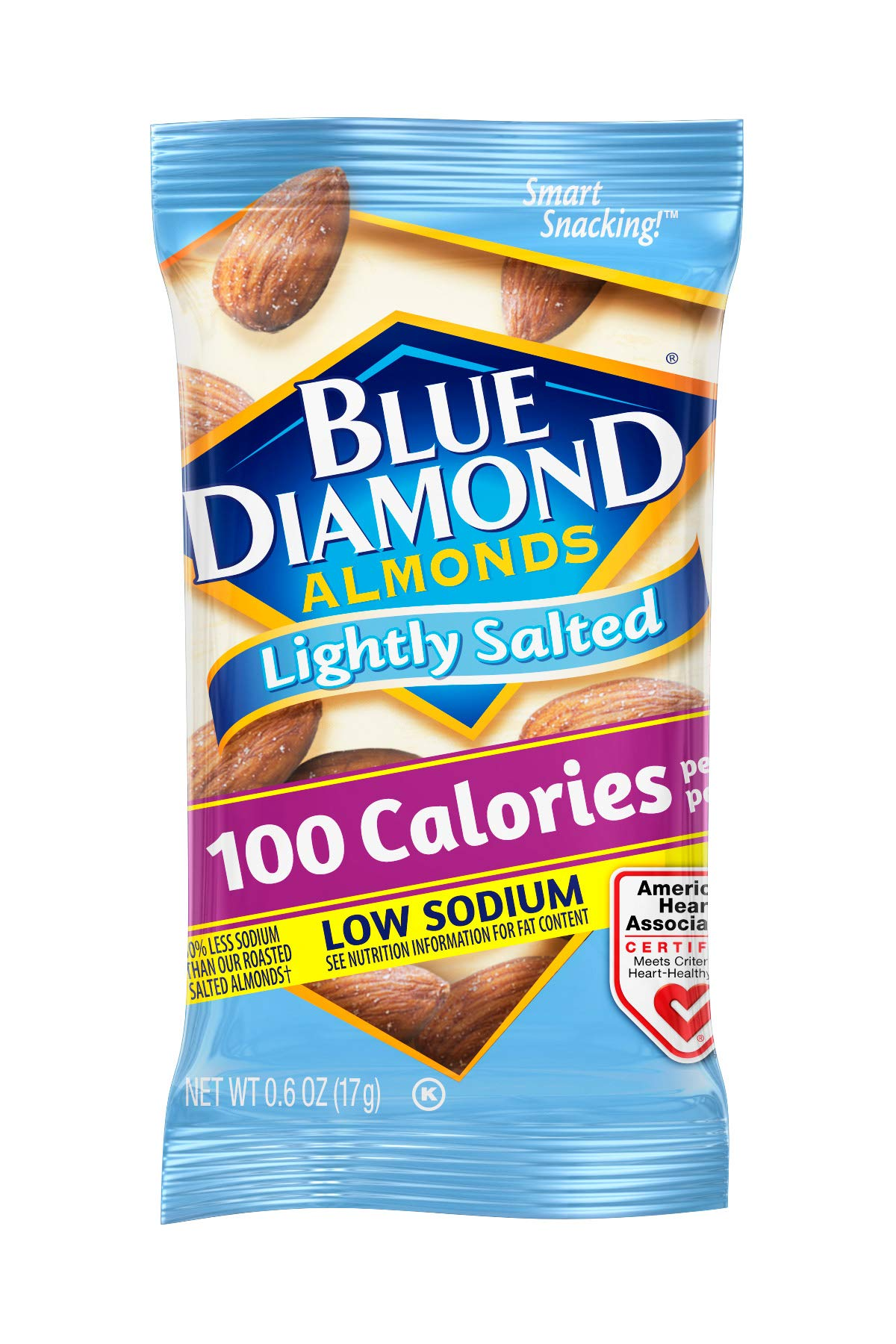 Blue Diamond Almonds On the Go 100 Calorie Packs, Lightly Salted, 12 Count by Blue Diamond Almonds (Image #4)