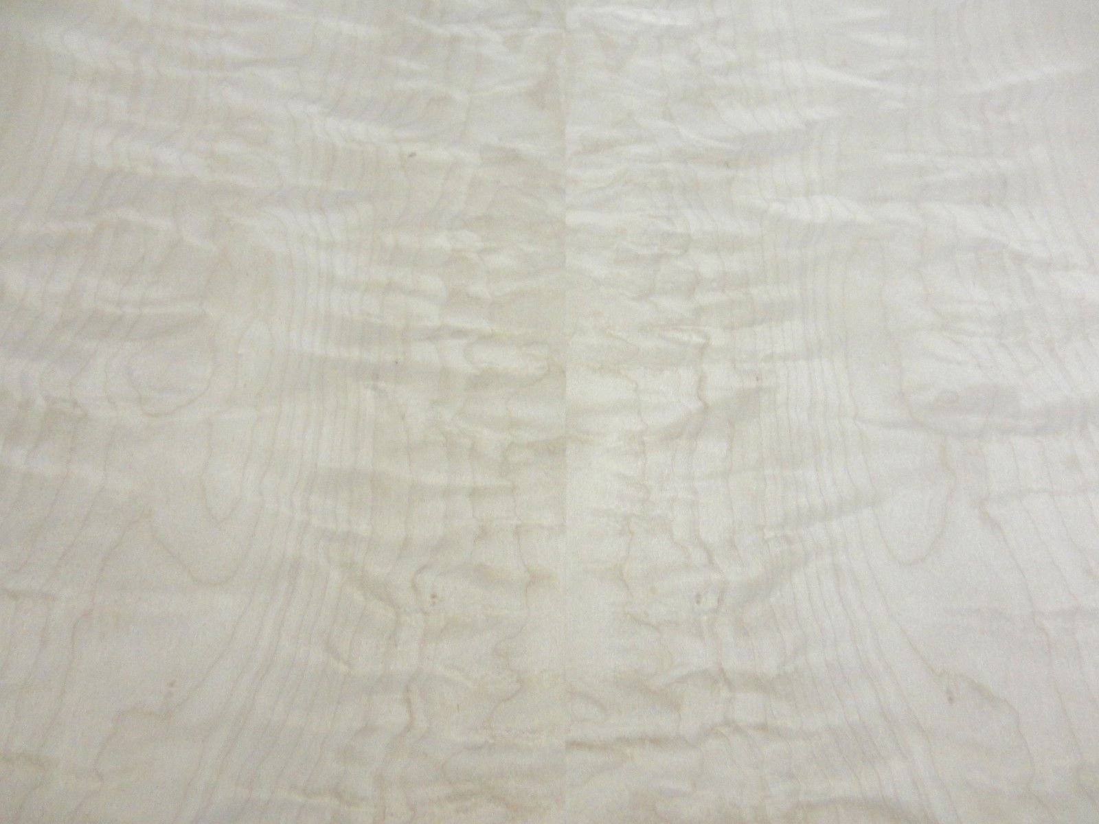 Curly Figured Maple wood veneer 48'' x 96'' with paper backer 1/40th'' thick ''AA''
