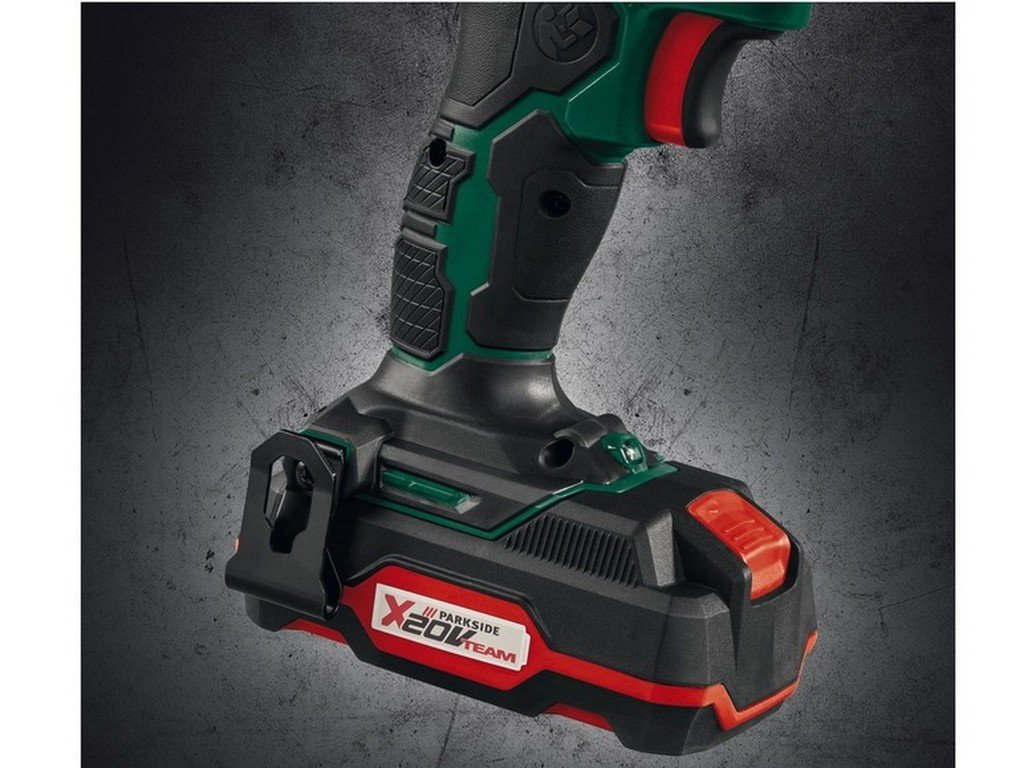 gaixample.org Parkside Cordless Drill 20v Lithium-ion Battery ...