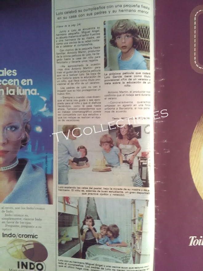 Amazon.com: Magazine~ LECTURAS ~July 18 1980 ~Prince Felipe ~Lolo Garcia ~Augusto Alguero Jr: Photographs