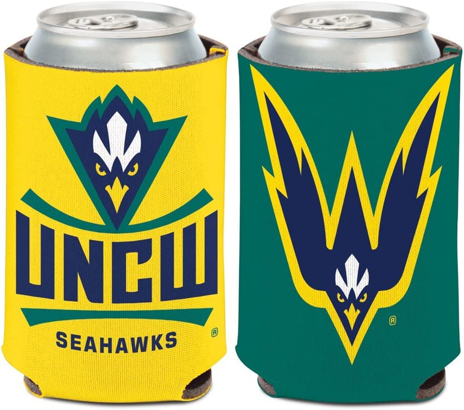 Ultimate Sports Apparel NCAA UNC-Wilmington Seahawks 2-Sided Can Cooler