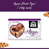 Wonderland Foods Premium Quality Anjeer ( Dried Figs ) 200g - Pack of 1