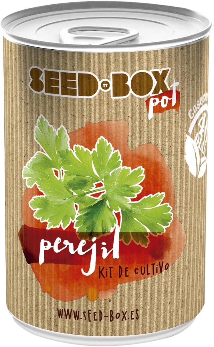 SeedBox PGPTFCE Lata de cultivo capuchinas enanas 0.7x0.7x9 cm ...