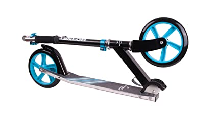 City Scooter Hornet ALU/Acero 8 200 Negro/Azul C: Amazon.es ...