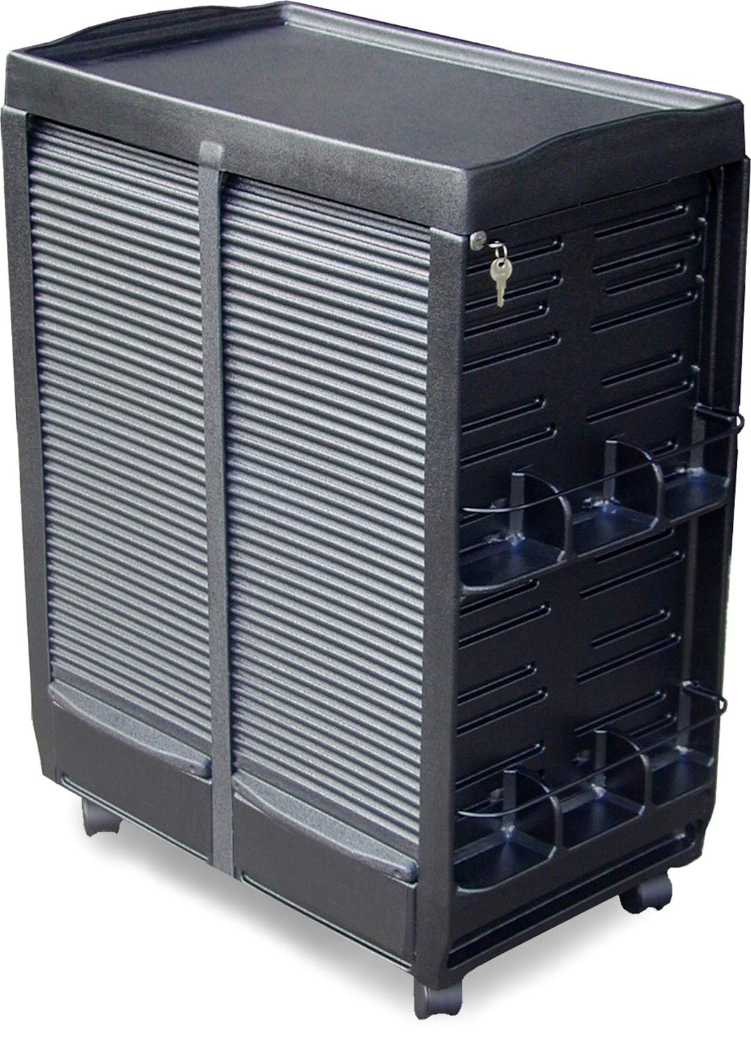 M180 M Medical Physician Storage Rollabout Trolley Cart Double Lockable Cabinets Made in USA