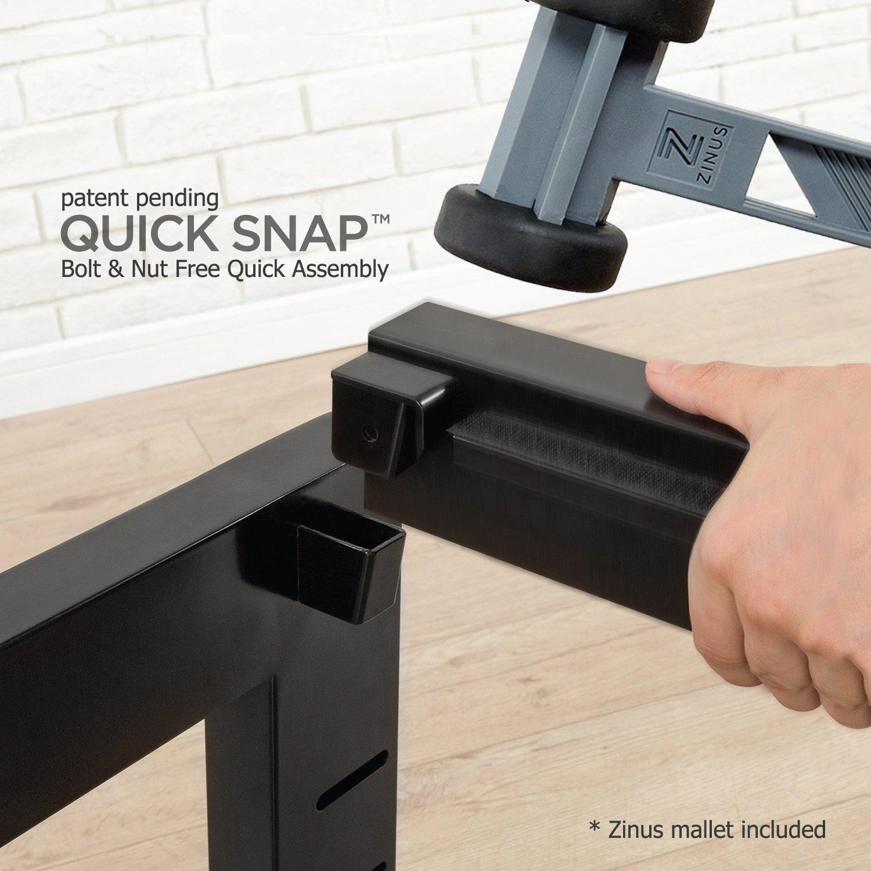 Zinus Quick Snap Tm 14 Inch Platform Bed Frame Mattress