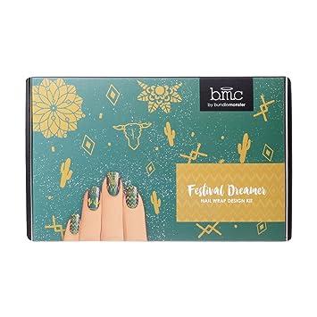 Amazon Bmc Festival Dreamer All In One Nail Wrap Design Kit
