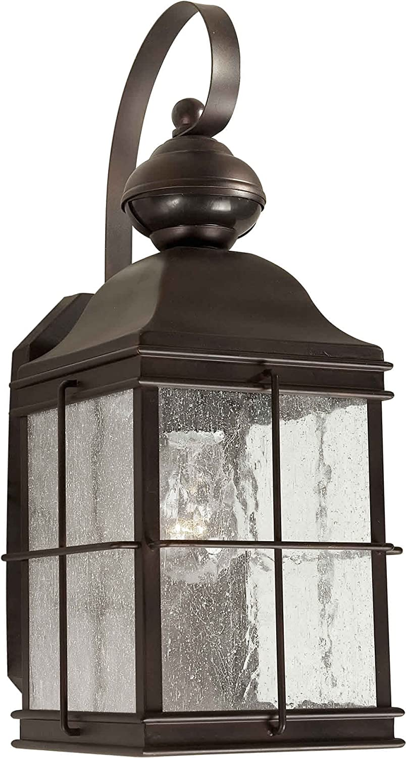 Forte Lighting 18006 01 32 Exterior Wall Light with