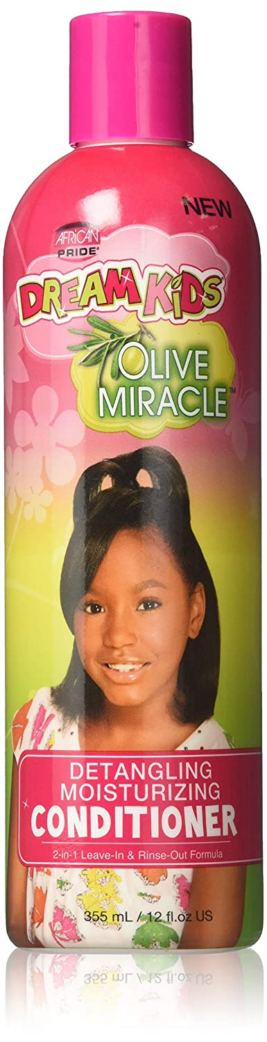 African Pride Olive Miracle Dream Kids Conditioner , 12 Ounce
