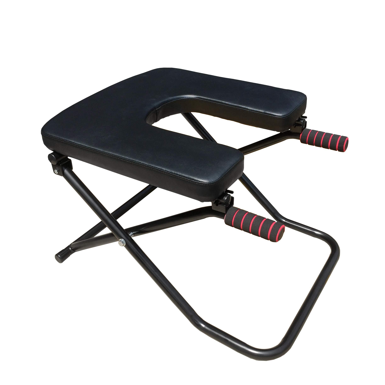 Sisyama Fitness Yoga Chair Inversion Bench + Bench Workout Manual