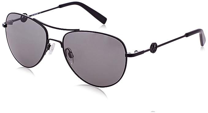 Moschino Damen Sonnenbrille Eye, Schwarz (Nero), 56