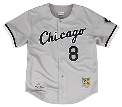 Bo Jackson Chicago White Sox Mitchell   Ness Authentic MLB 1993 Button Up  Jersey cba44f107