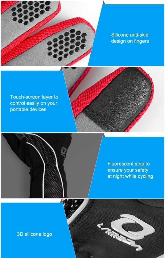 4Ucycling Guantes t/érmicos de forro polar con tejido apto para pantallas t/áctiles