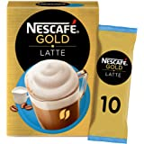 Nescafe Gold Latte Coffee Mix Sachet 19.5g (10 Sachets)