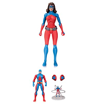 Entertainment Earth DC Icons Atomica Deluxe Action Figure 3 Pack: Toys & Games