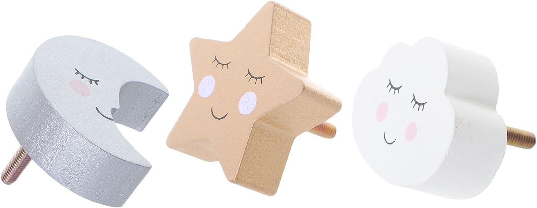 Amazon De Dekorative Schubladenknopfe Lachelnde Wolke Mond Und