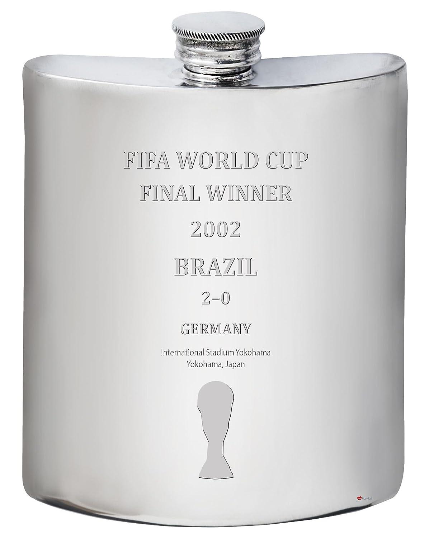 最新の激安 Brazil 2002 Fifa World Cup Fifa Cup Winner 6オンス ヒップフラスコピューター World B07F9XXHW8, ブートスポット:48212ebe --- a0267596.xsph.ru