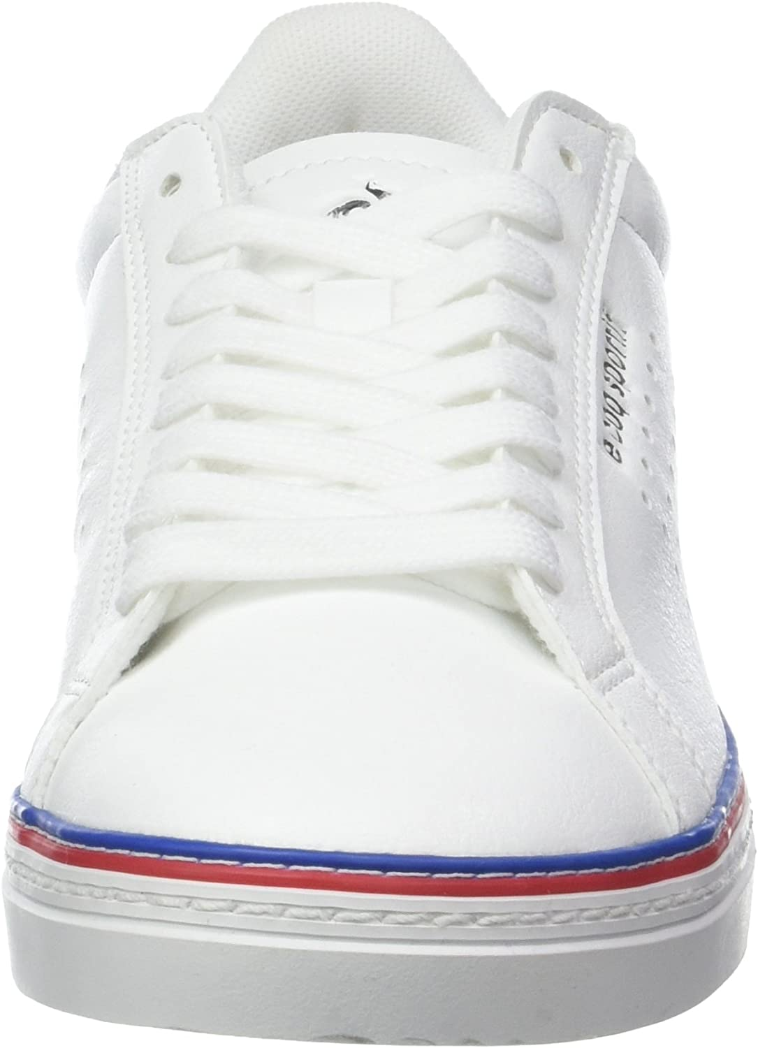 le coq Sportif Women's Low-Top Trainers White Optical White Blanc