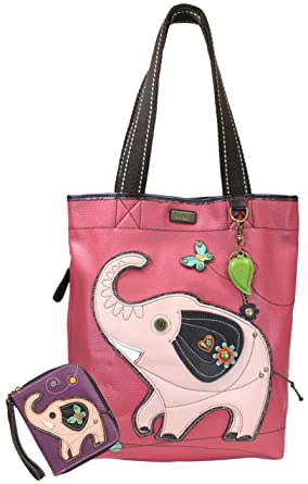 fc3441282027 Chala Handbags Big- Everyday Tote Women Handbag with Zip Around Wallet