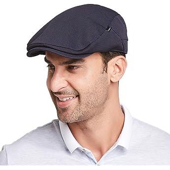 Gisdanchz Boinas De Hombre Boina Mujer Gorras Planas Gorros Hombre Pageboy Hat Flat Cap For Men Ivy Cap For Men Gatsby Hats For Men Jeff Cap Ivy Hats For Men Azul Marino: