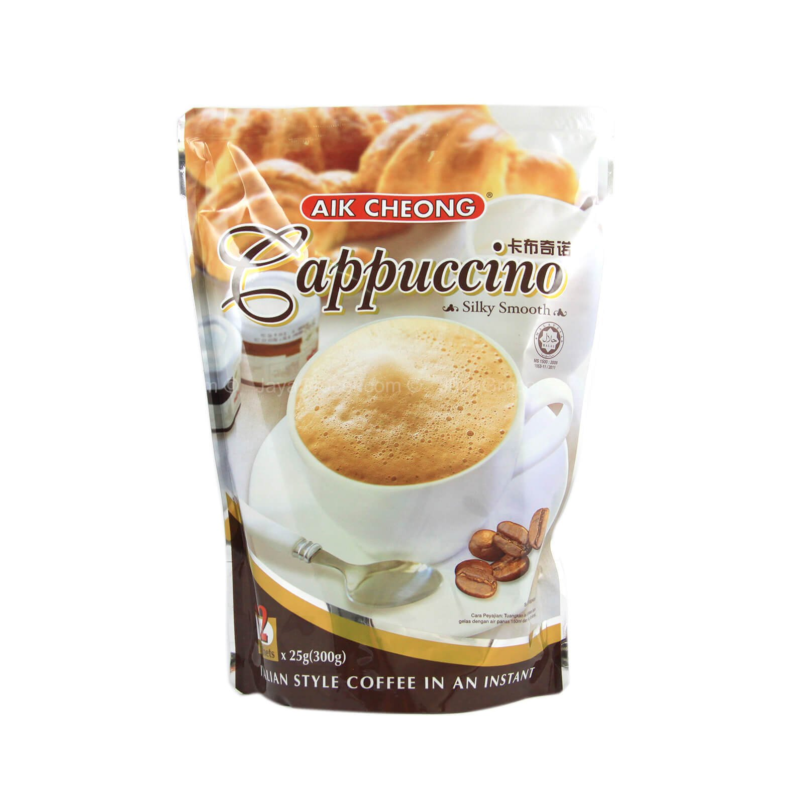 Aik Cheong Cappuccino Beverage (10 Pack)+ one NineChef Spoon by NineChef (Image #2)