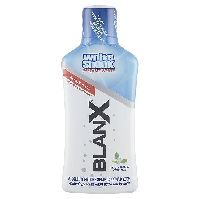 12 opinioni per Blanx White Shock Collutorio- 500 Ml