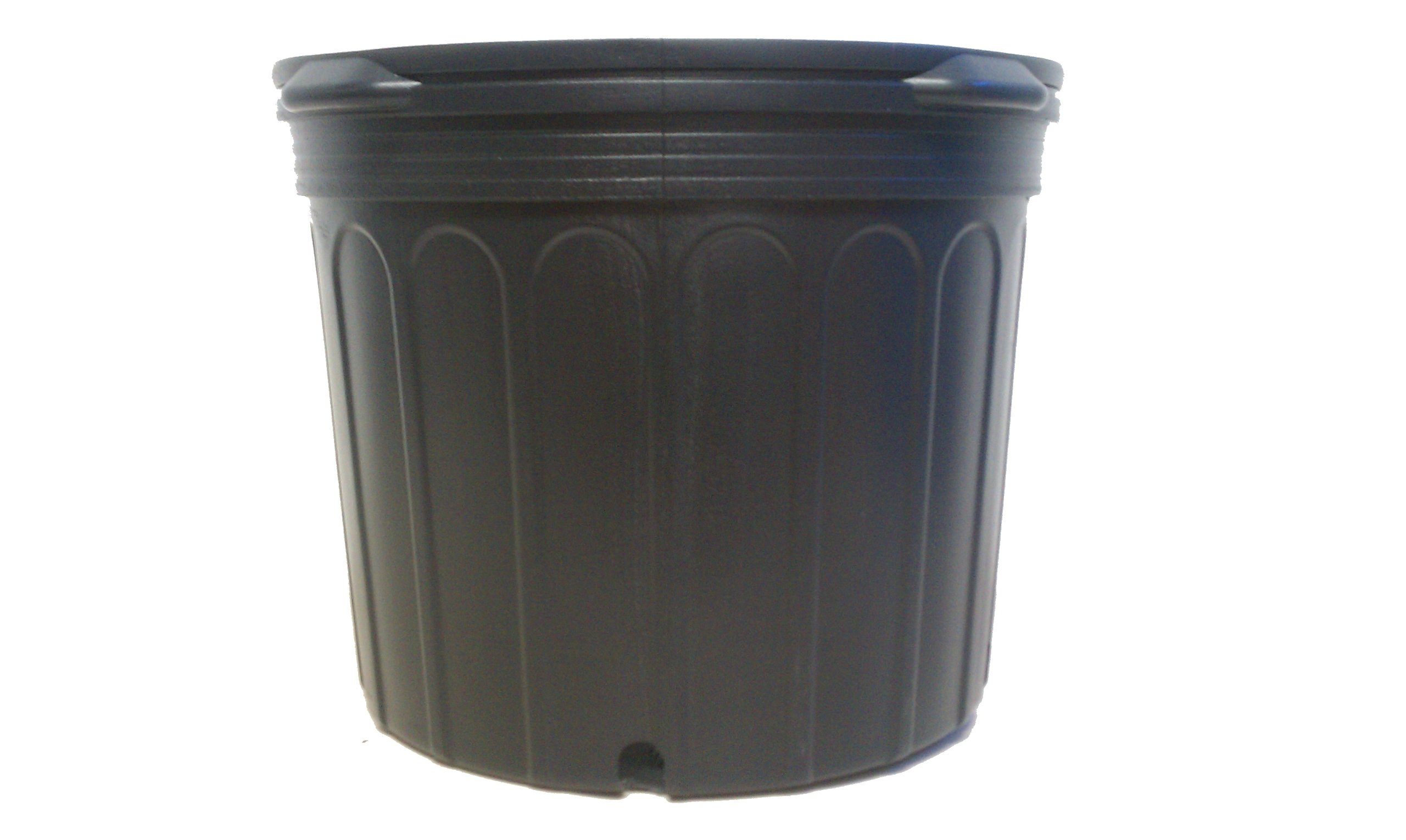 6 NEW Plastic Nursery 7 Gallon Trade POT ~ Actual Volume: 5.8 Gallons