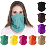 FAYBOX 6pcs Magic Wide Wicking Headbands Outdoor Headwear Bandana Sports Scarf Tube UV Face Mask for Workout Yoga…