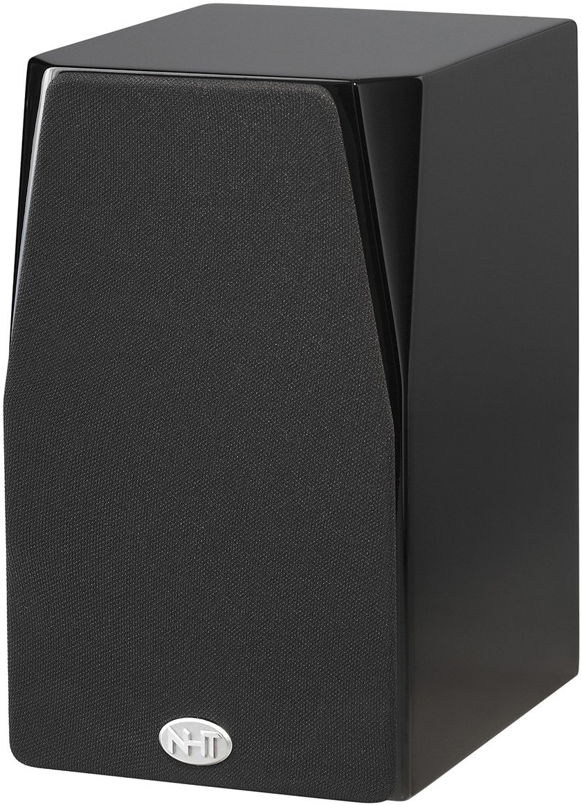 NHT C Series C-1 2-Way Bookshelf Speaker (Single) - High Gloss Black