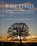 Bible Verses - Alzheimer's / Dementia / Memory Loss Activity Book for Patients and Caregivers