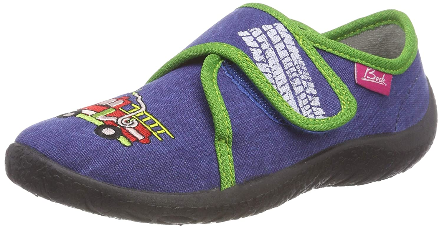 Beck Boys'' Fire Low-Top Slippers