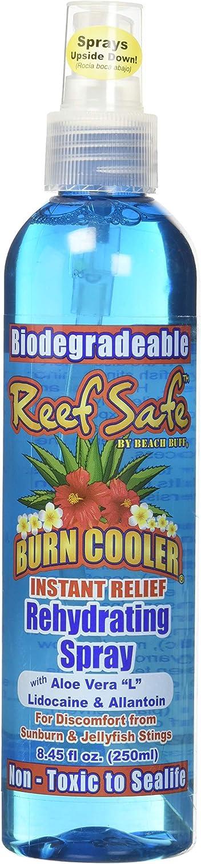 REEF Safe Beach Buff Instant Relief Sun Burn Cooler with Lidocaine Spray