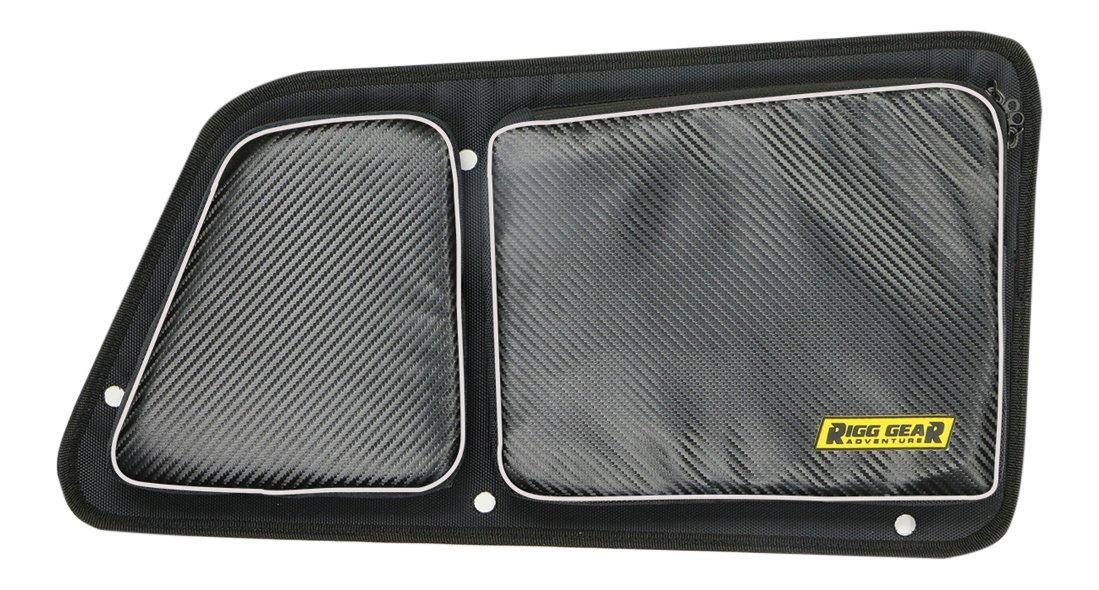 Nelson-Rigg Black RG-002 Rear Upper Door Bag Set