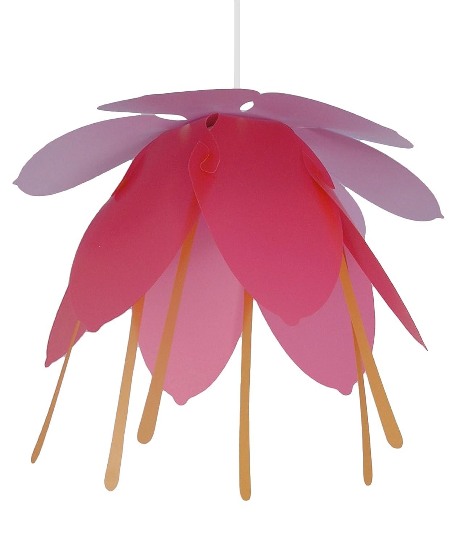 Massive fiore lampadario a sospensione e27 1x 14 w, lampadina ...