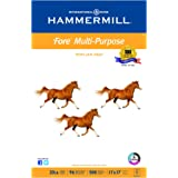 Hammermill Paper, Fore MP Paper, 20lb, 11 x 17, Ledger, 96 Bright, 500 Sheets / 1 Ream, (103192R), Made In The USA