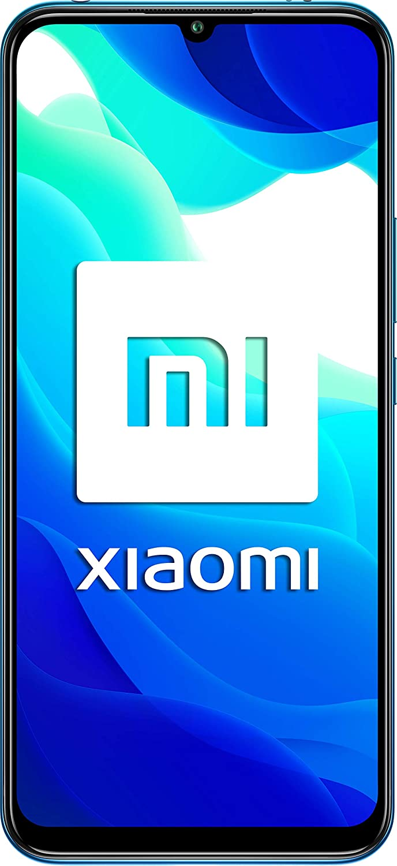 "Xiaomi Mi 10 Lite (Pantalla AMOLED 6.57"", TrueColor, 6GB+64GB, Camara de 48MP, Snapdragon 765G, 5G, 4160mah con carga 20W, Android 10) Azul [Versión Española]"