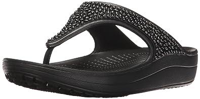 04ced5b61f19 Crocs Women s Sloane Embellished Flip Flop