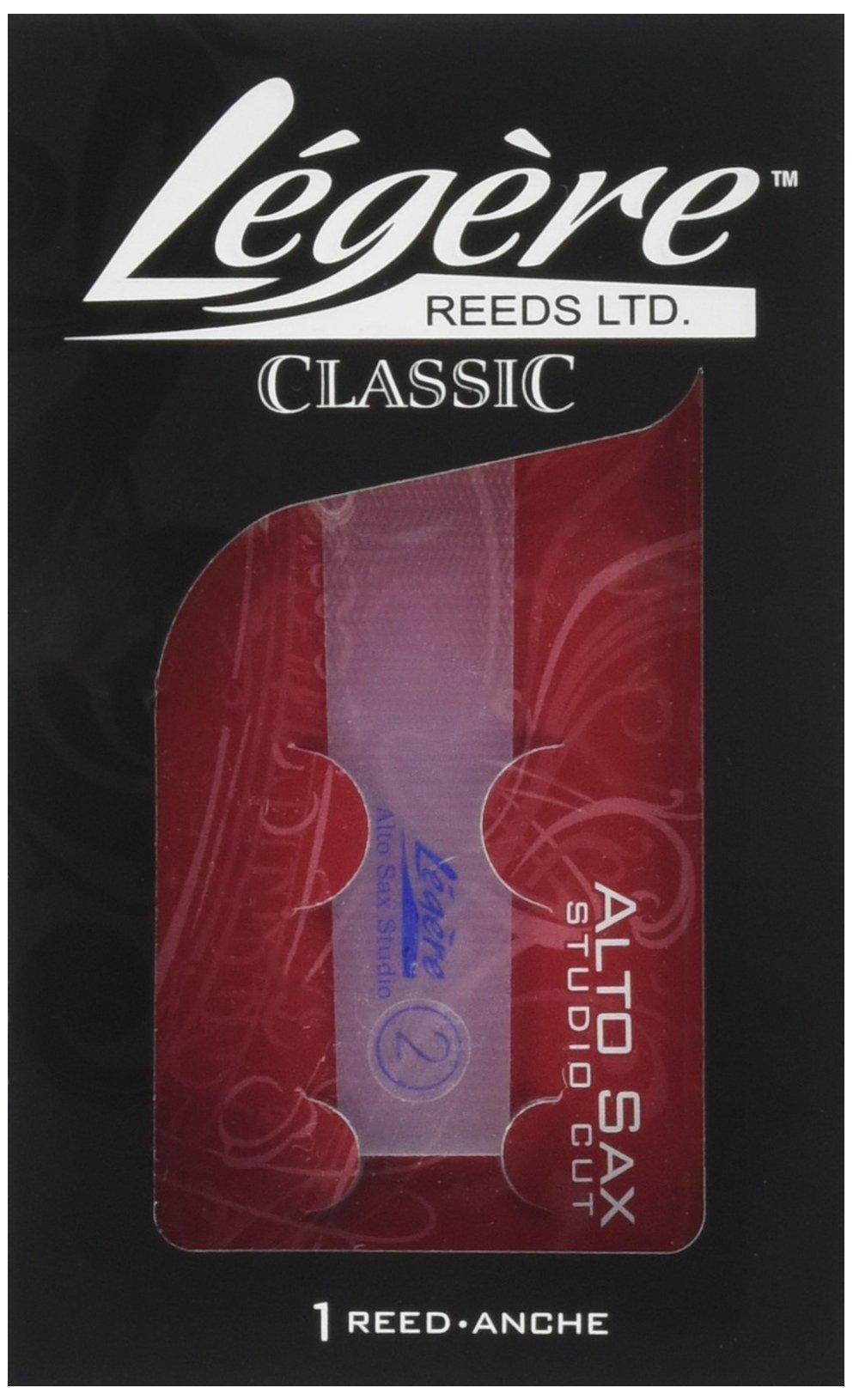 Legere ASS200 Eb Alto Saxophone Studio Cut No. 2 Reed
