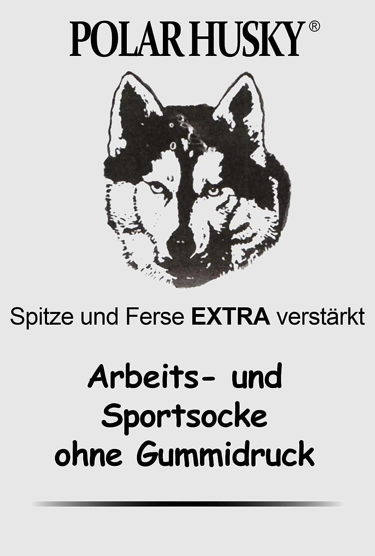 sehr Stabil und warm Polar Husky/® 3 Paar Schafwollkniestr/ümpfe Kniestr/ümpfe mit Frotteesohle