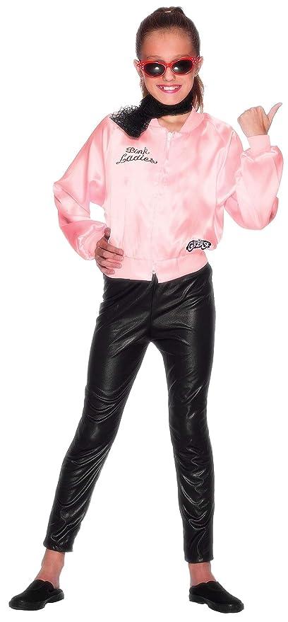 Smiffys 27490M - Chaqueta para disfraz de cantante para Niña, talla 7 - 9 años