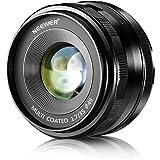 Neewer 35mm F1.7 Manual Focus Prime Fixed Lens for Micro 4/3 MFT M4/3 Olympus and Panasonic APS-C Digital Mirrorless Cameras
