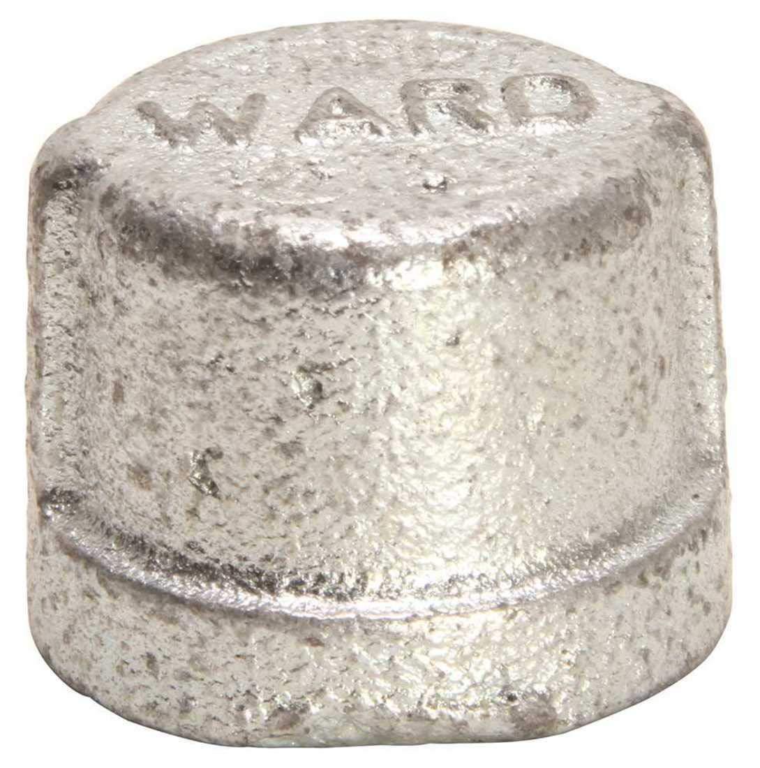 WARD 332301.E.NMCAP Galvanized Malleable Cap 3//4