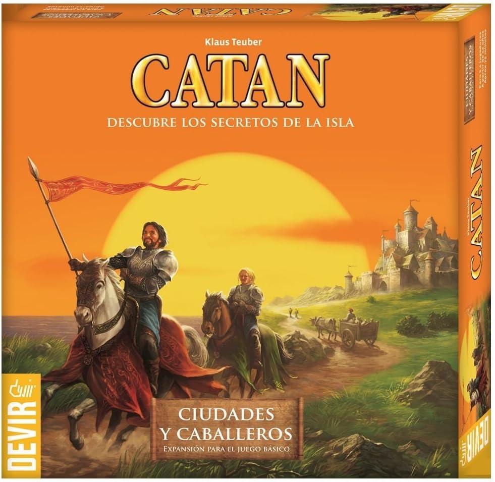 Devir - Expansión Catán: Ciudades y Caballeros (42296): Teuber, Klaus: Amazon.es: Juguetes y juegos