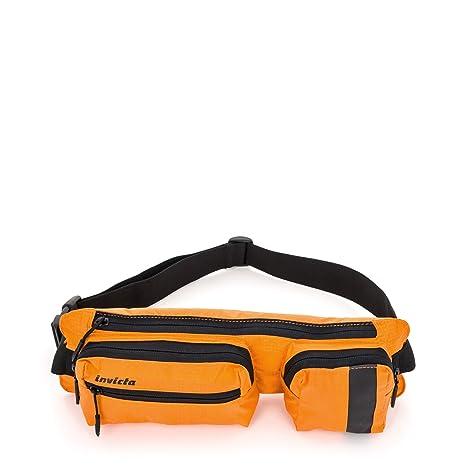 invicta 2 TIME BIG borsello Arancione I LT POCKET Marsupio DOUBLE rxCUPwqr7