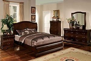 Furniture of America Esperia Dark Walnut Mirror