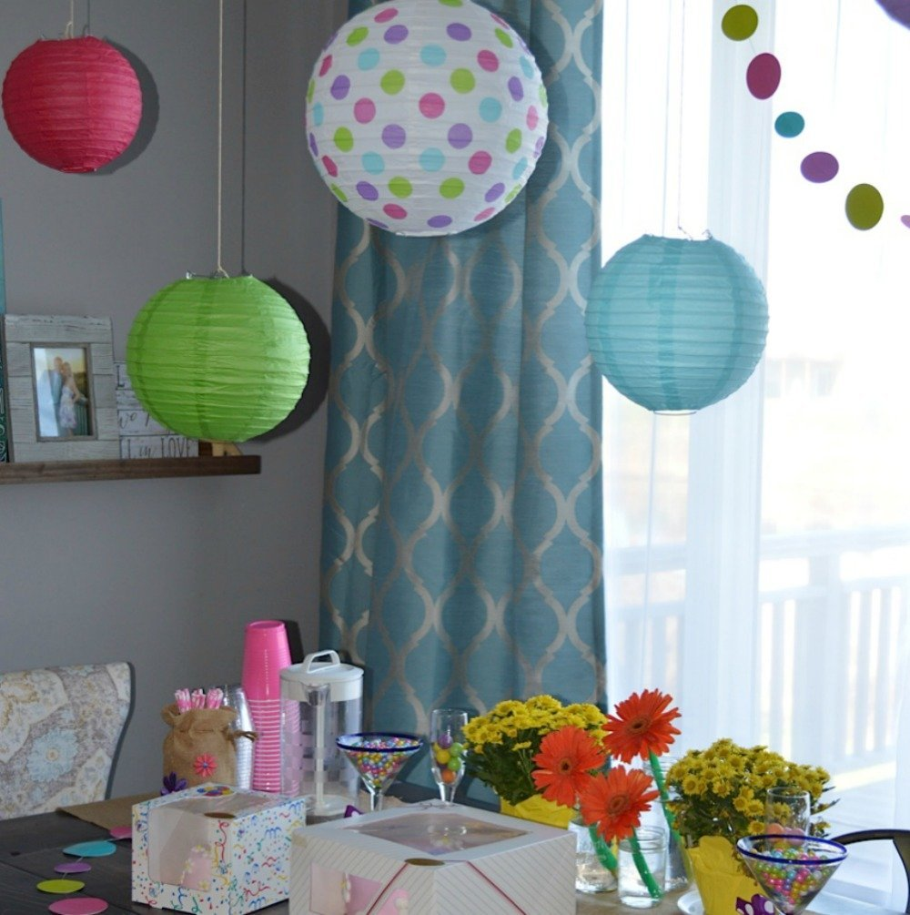 Amazoncom Bobee Paper Lanterns for Birthday Party Baby Bridal