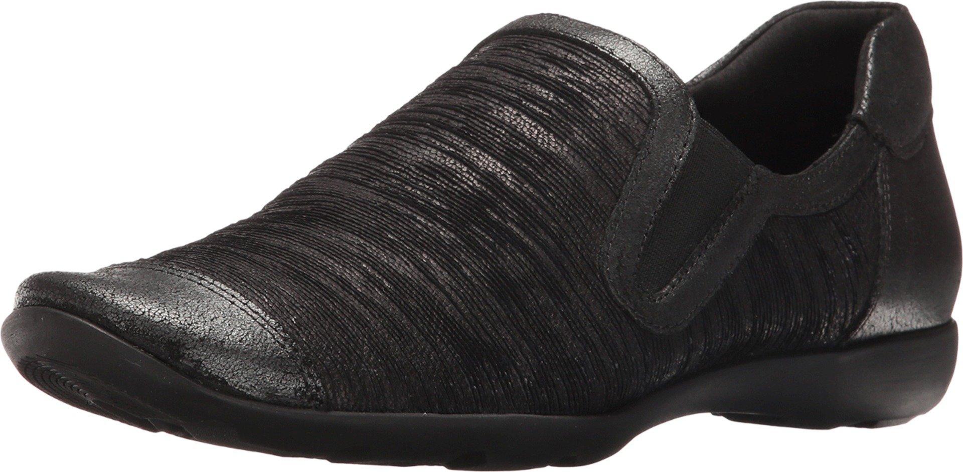 Sesto Meucci Women's Gift Black Aryn/Black Natan Sneaker 8 M (B)